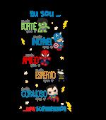 super herois  - coloque info no campo observações -